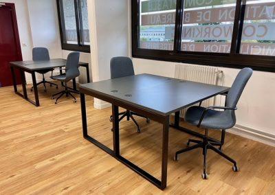 Photo de l'open space du business center Melun